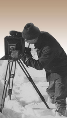 Claude Tidd Setting up Camera